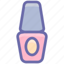 bottle, cosmetic, fashion, makeup, nail paint, nail polish icon
