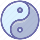 sign, spa, yin and yang, yin yang icon