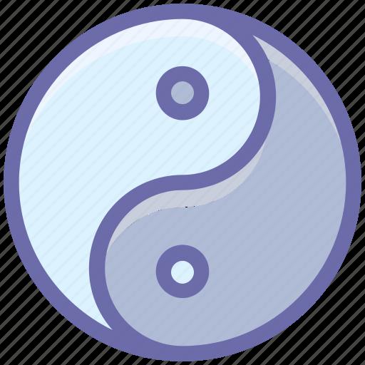 sign, spa, yin and yang, yin yang icon