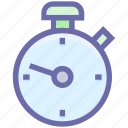clock, measure, optimization, speed, stopwatch, time, timepiece, timer, watch icon