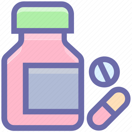 aid, capsule, care, cough syrup, drug, hospital, medical, medicine, pharmacy, recovery, tablet, treatment icon