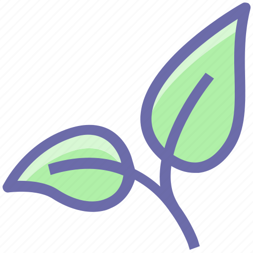 agriculture, bio, eco, ecology, environment, green, leaf, leaves, nature, organic, plant icon