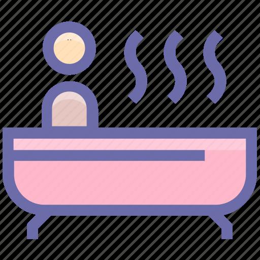 bath, bathtub, beauty, jacuzzi, relax, relaxation, spa icon