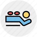 beauty, hot, jar, massage, spa, treatment icon