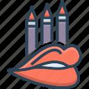 beauty, cosmetic, liner, lip, lip liner, makeup, pencil