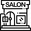 barbershop, beauty, beauty salon, glamour, salon icon
