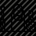 bottle, color, colourful, nail, nailcolor, nailpolish, varnish icon