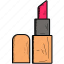 color, cosmetics, glamour, lip, lipstick, makeup icon