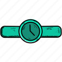 hand, time, watch icon