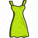 dress, lady, woman icon
