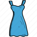 dress, girls, shirt icon