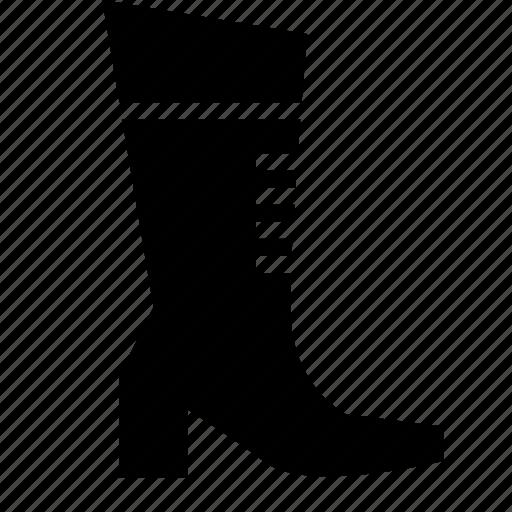 boot, footwear, heels, shoes, woman icon