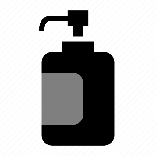 Body, bottle, hair, hand, shampoo, soap icon - Download on Iconfinder