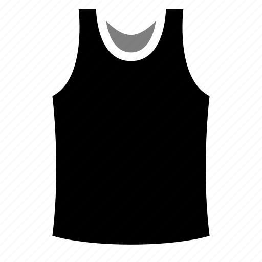 apparel, clothing, singlet, sleeveless, tank top icon
