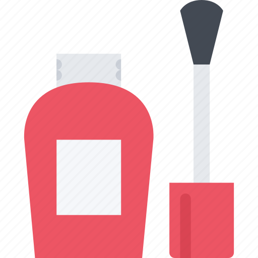 barbershop, beauty, care product, nail, polish, spa icon
