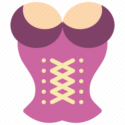 beauty, corset, lingerie, underclothes, underwear icon
