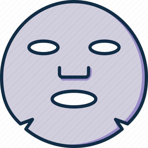 Facial, mask, sheet, care, face, skin icon - Download on Iconfinder