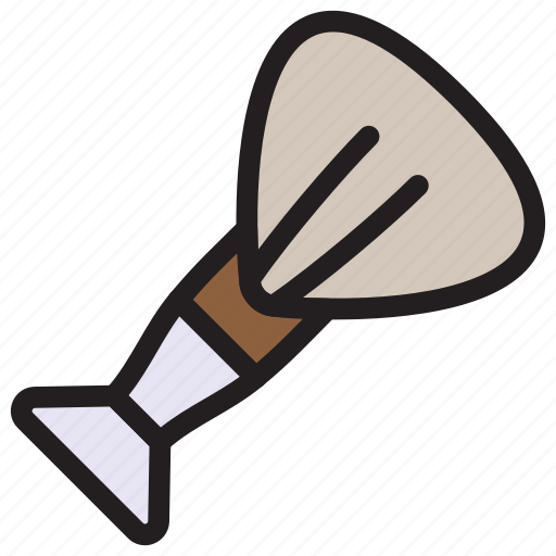 barber, brush, makeup, shave icon