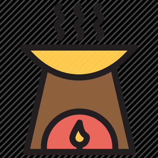 Burner, fire, kitchenstove, spa icon - Download on Iconfinder