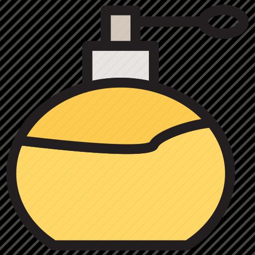fragrance, perfume, scent, spray icon