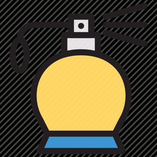 bottle, fragrance, perfume, spray icon