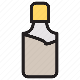 cosmetic, hairoil, lotion, spa icon