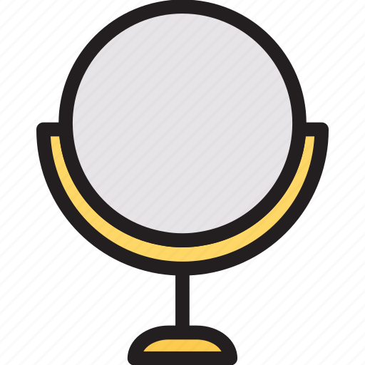 display, furniture, interior, mirror icon