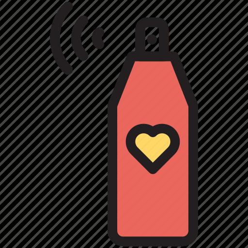 Bottle, cosmetics, perfume, spray icon - Download on Iconfinder