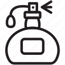 cosmetic, fragrance, perfume, scent icon