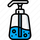 beauty, cosmetic, hygiene, soap icon
