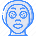 beauty, cosmetic, face mask, spa, treatment icon