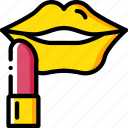 beauty, cosmetics, lipstick, make up, makeup icon