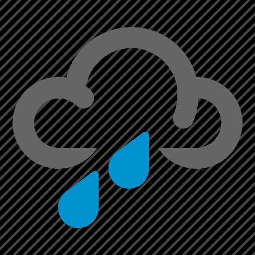 rain, rainshower, rainy, shower, weather icon