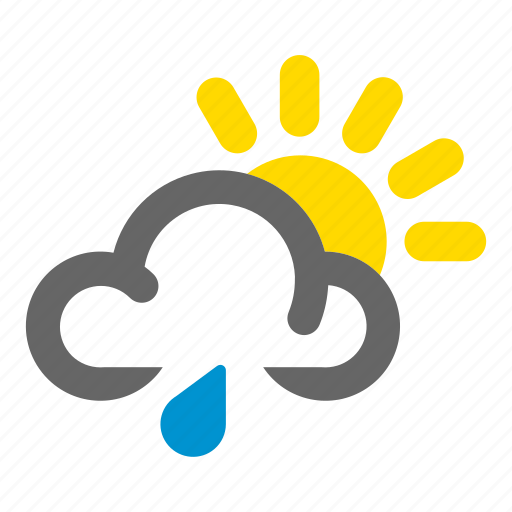 drizzle, mixed, patchy, rain, shower, weather icon