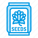 beekeeping, honey, plants, seeds icon
