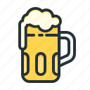 bar, beer, brew, drink, glass icon