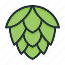 brew, beer, brewing, hops, hop icon