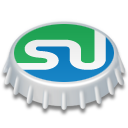beer cap, stumbleupon icon