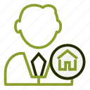 agent, building, consultantl, estate, realtor icon