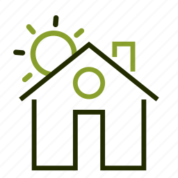 apartment, home, house, loan, property icon