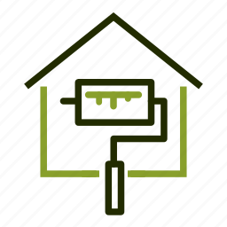 building, paint, property, renovation, repair icon