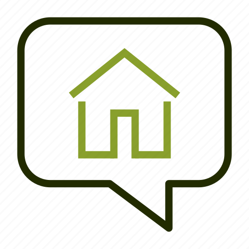 estate, house, location, map, property icon