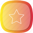 achievement, best, favourite, good, heart, main, star icon
