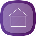 align, apartment, arrows, center, home, homemenu, right icon