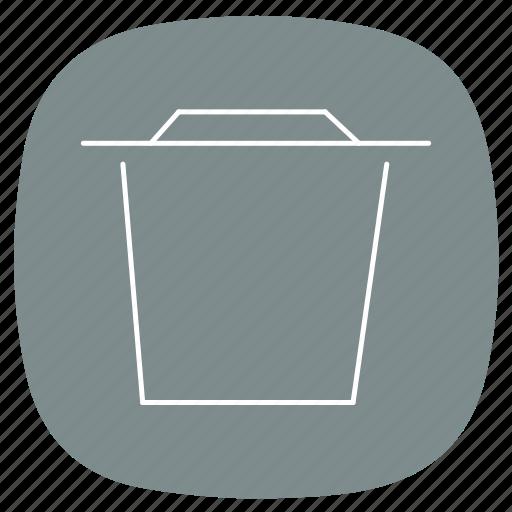 bin, delete, document, empty, folder, remove, trash icon