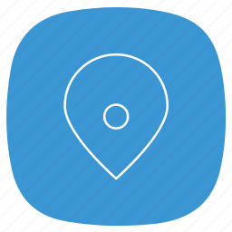 geotag, location, map, place, point, pointer, print icon
