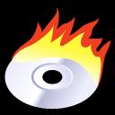 beos, burn icon