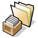 beos, folder, queries icon