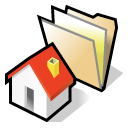 beos, folder, home icon