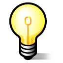 idea, jabber, lightbulb icon